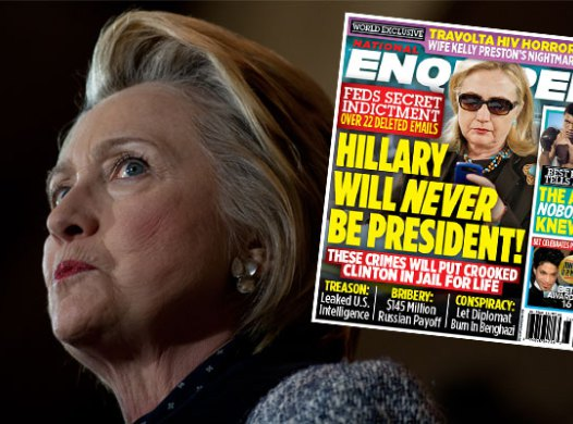 NEW 'NATIONAL ENQUIRER' COVER: Claims Hillary Clinton Tell-All To Reveal '