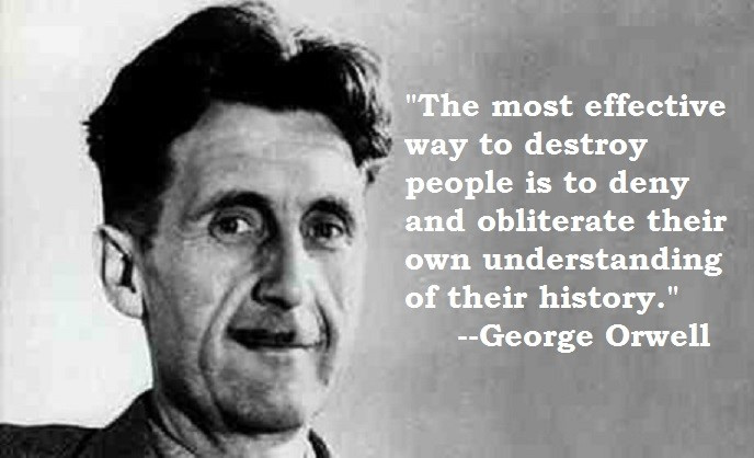 Conservative Truth Is It The Earmark Of Tyranny To Erase History
